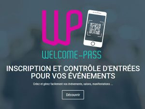 application mobile Welcome pass gestion événementielle