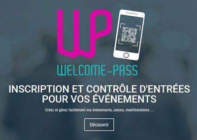 Welcome Pass : applications Android, iOS et web