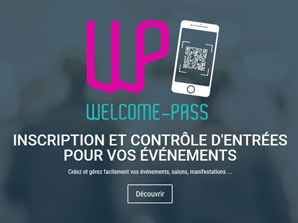 Création d'application mobile Android, IOS Welcome Pass gestion événementielle