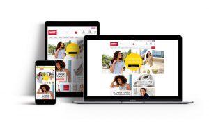 Migration site internet responsive Witt International