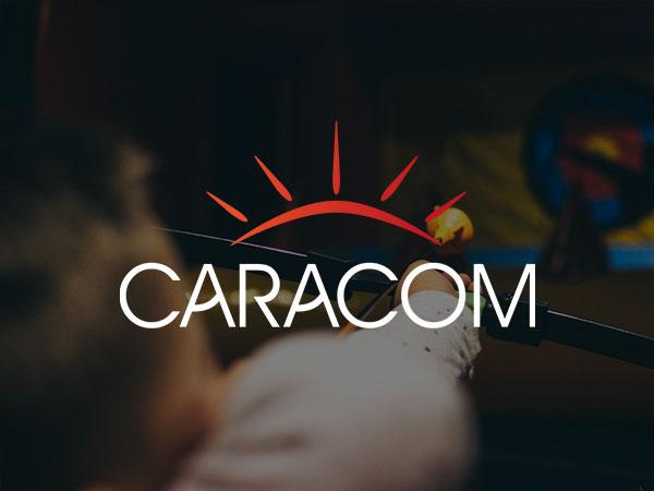 Création du site internet de l'agence événementielle Caracom à Lille
