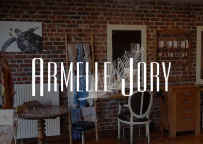 Création du site internet des salons de coiffure Armelle Jory