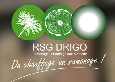 Ramonage Drigo : logo, site vitrine, imprimés