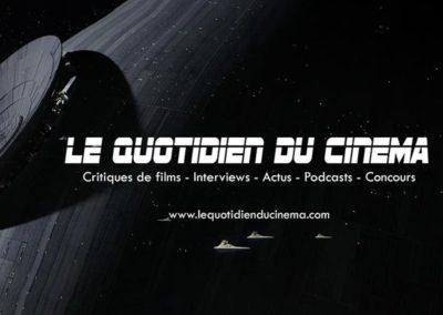 Le Quotidien Du Cinéma : refonte du site internet