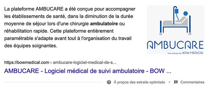 extrait-optimise-propose-par-google-agence-web-lille
